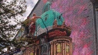 REVES ONE | Oxford Street Art Mural