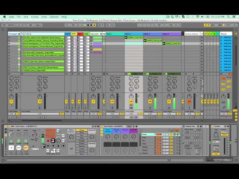 DJ Megaset 2.0 - Ableton Live Template for DJing and Mixing