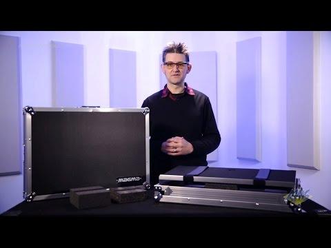 Magma DJ Controller Workstation Case for DDJSR - Pioneer DDJSR