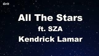 All The Stars Kendrick Lamar Sza Karaoke No Guide Melody Instrumental