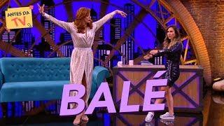 Uma aulinha básica de balé com Claudia Raia  | Lady Night | Nova Temporada | Humor Multishow