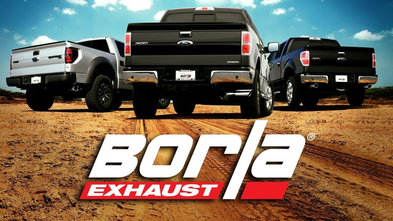 BORLA Exhaust F150 Raptor, 5.0L & EcoBoost Shootout! - YouTube