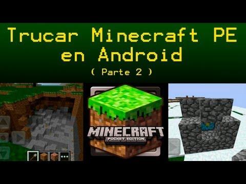 Tutorial para trucar Minecraft PE (PARTE 2) inserta MODS. MAPAS. TEXTURAS....
