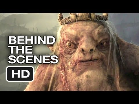 The Hobbit: An Unexpected Journey Behind The Scenes - VFX (2012) - Peter Jackson Movie HD