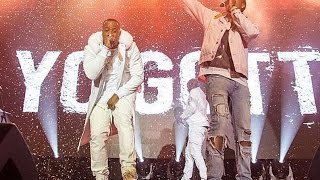 "Yo Gotti ""Pays His Respect To Kodak Black Does Tunnel Vison Dance At Concert"""