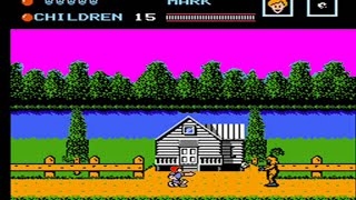 Friday the 13th - Nes - Full Playthrough - Partial No Death Playthrough (Mark Only)