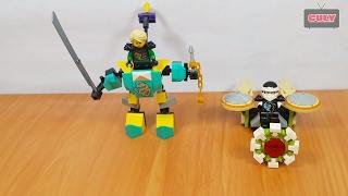 Ráp Lego NinjaGo cưỡi Robot cầm kiếm đẹp brick toy for kids xếp hình đồ chơi trẻ em