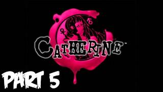 """Catherine Walkthrough Part 5 [Day 2/Stray Sheep] """"Hello Catherine"""" - Let's Play (Gameplay)"""