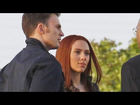 'Captain America: The Winter Soldier' Set Photos Reveal Confrontation