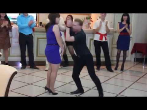 Чёткий танец на свадьбе