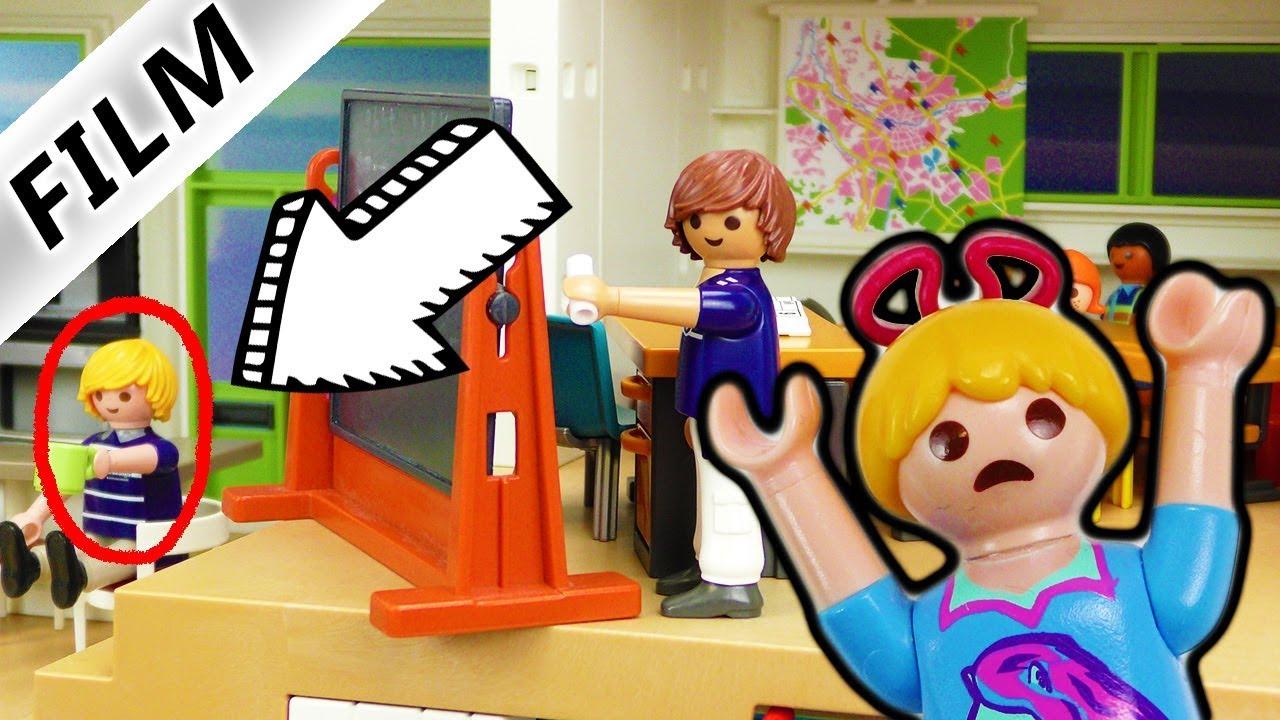 Playmobil Film deutsch   Luxusvilla wird zur SCHULE - Hannah MEGA ...