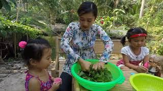Làm Sương Sâm nước cốt dừa - Hương vị đồng quê - Bến Tre