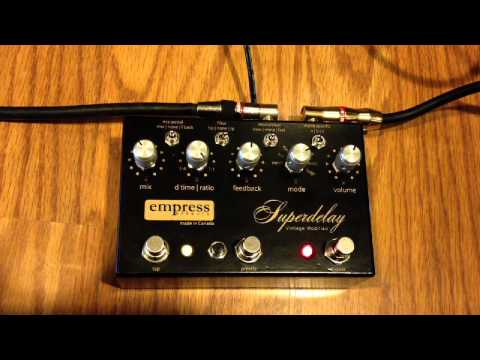 Empress Superdelay Vintage Modified Delay