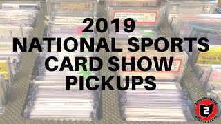 2019 National Sports Card Show Pickups: Luck, Gary Vee, 1/1s & MORE!