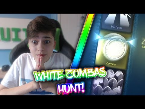 COULD IT BE?! | WHITE ZOMBA HUNT | Rocket League