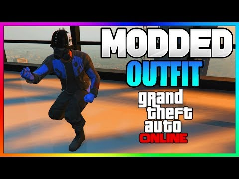 """GTA 5 Online """"Modded Outfit"""" Tutorial - RARE Jacket + Black Joggers! - NEW Clothing Glitch 1.40"""