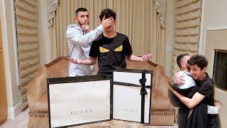 Surprising FaZe Rug w/ RARE $3000 GUCCI! *emotional*