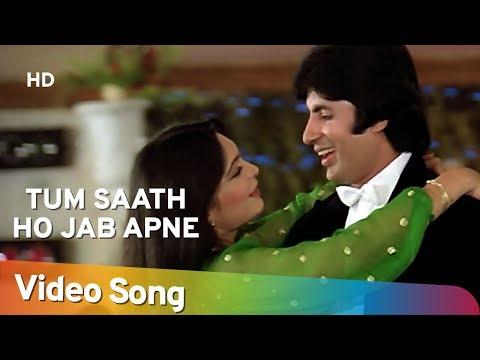 Tum Saath Ho Jab  Amitabh Bachchan  Parveen Babi  Asha Parekh  Kaalia  Hindi Romantic Songs HD