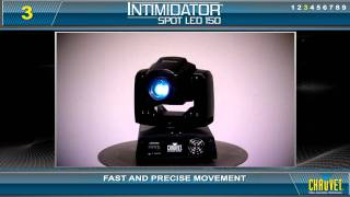 idator Spot LED 150: Lightweight, super fast moving head by CHAUVET
