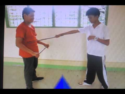 Arnis Salute, blocking and Striking Techniques (CNSTHS) Image 1