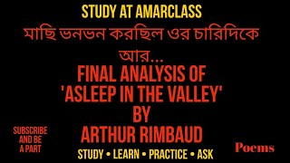 Final Analysis of Asleep in the valley: by Study at Amarclass