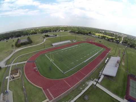 Flying around Northwest High School Wichita, KS