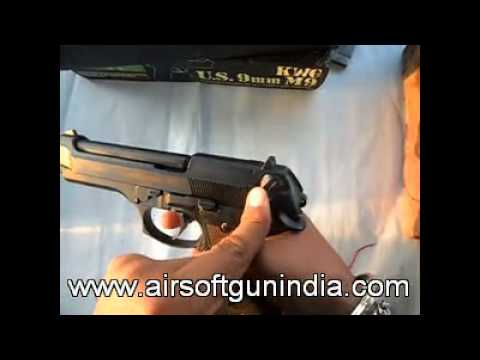 M9 gas blow back pistol by airsoft gun india