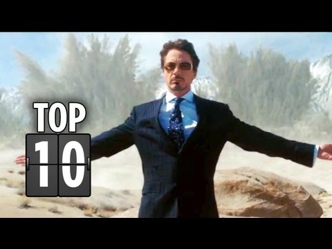 Top Ten Tony Stark Quotes - Iron Man Movie Hd video