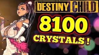 SO MANY CRYSTALS! : Destiny Child