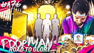 OMG 3 WALKOUTS! 200K PROFIT on 3 LEAGUE SBCs! - POOR MAN RTG #176 - FIFA 19 Ultimate Team