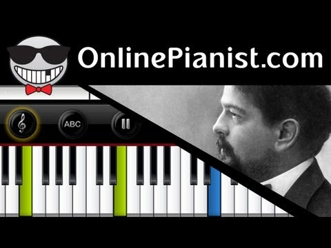 Claude Debussy - Clair de Lune - Piano Tutorial Music Videos