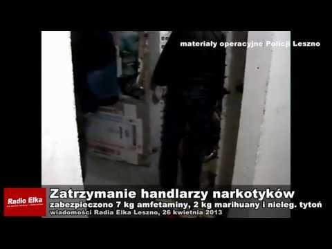 Zatrzymanie handlarzy narkotyków w Lesznie