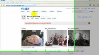 Flickr Tutorial