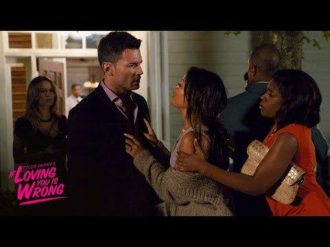 Brad's Birthday Party Bombshell | Tyler Perry's If Loving You Is Wrong | Own video