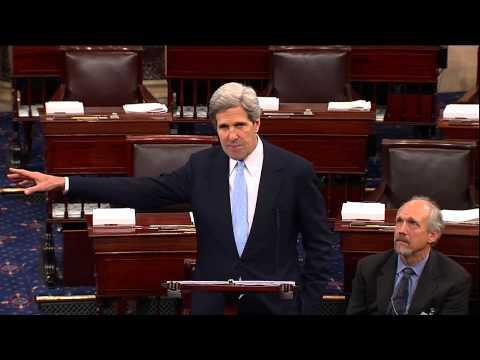 Senator Kerry Urges Passage of Disabilities Treaty