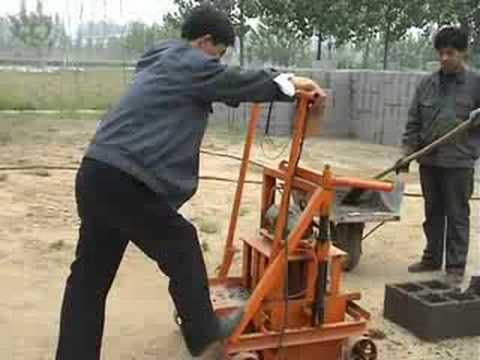 QMR 2-45 II concrete block machine