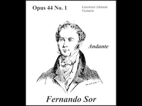 Fernando Sor - Andante Op44