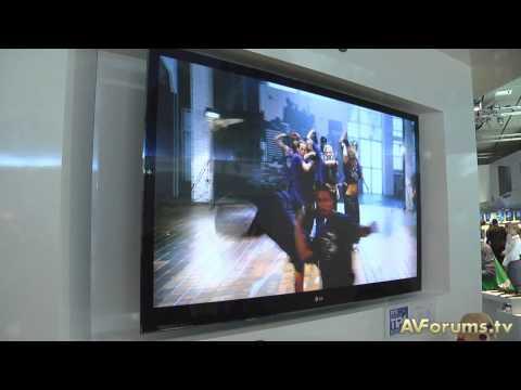 IFA 2010 - LG PX990 3D Plasma World's First THX 3D Certified