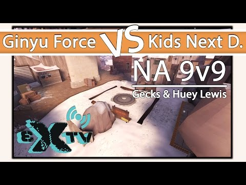 eXtv Live: UGC Grand Finals - Ginyu Force vs Kids Next Door (Map 3: Viaduct)