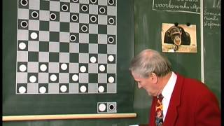 Draughts Lesson by Leen de Rooij in The Netherlands.