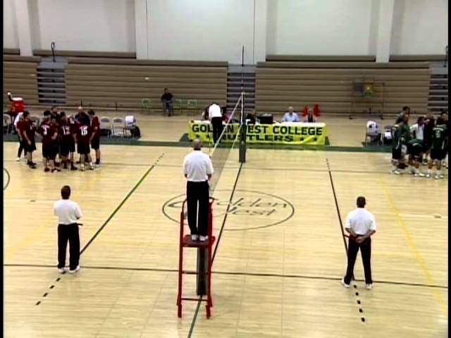 04/6/12 Golden West College Men's Volleyball vs San Diego