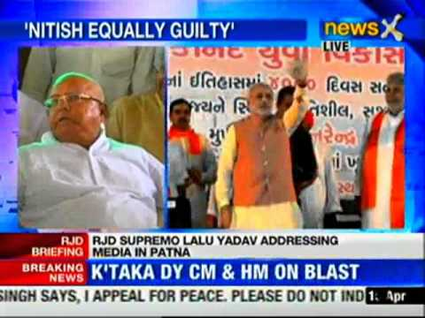 Nitish Kumar is an opportunist: Lalu Prasad Yadav