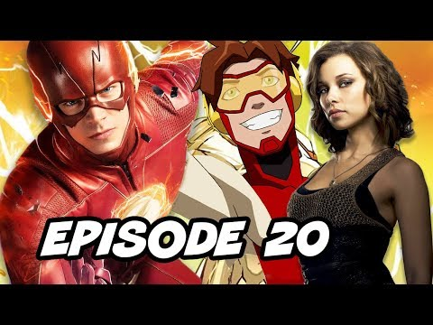 The Flash 4x20 Episode Nora Allen - TOP 10 and Easter Eggs thumbnail