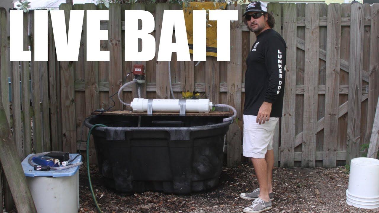 100 Gallon Live Fishing Bait Tank Build Video Supreme