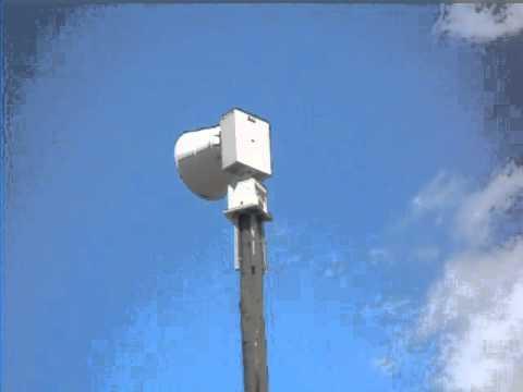 Tornado siren test Oviedo,FL Federal Signal 2001-130