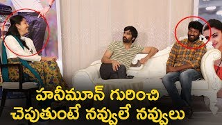 Ravi Teja Making Fun of Nela Ticket Movie Concept @ Malvika Sharma