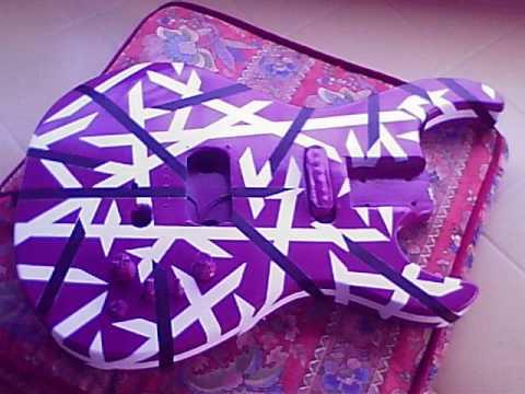 Purple Frankenstein Guitar Project Eddie Van Halen Replica