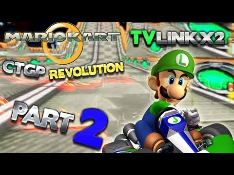 Let's Play Mario Kart Wii CTGP (Kommentiert,German) Part 2 - Absolute POWER!!!