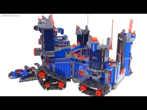 LEGO Nexo Knights: Fortrex + Merlok's Library combined!