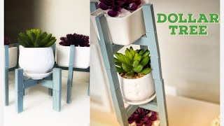 Easy and Quick DIY Jenga Project || planter Stand DIY || succulent stand